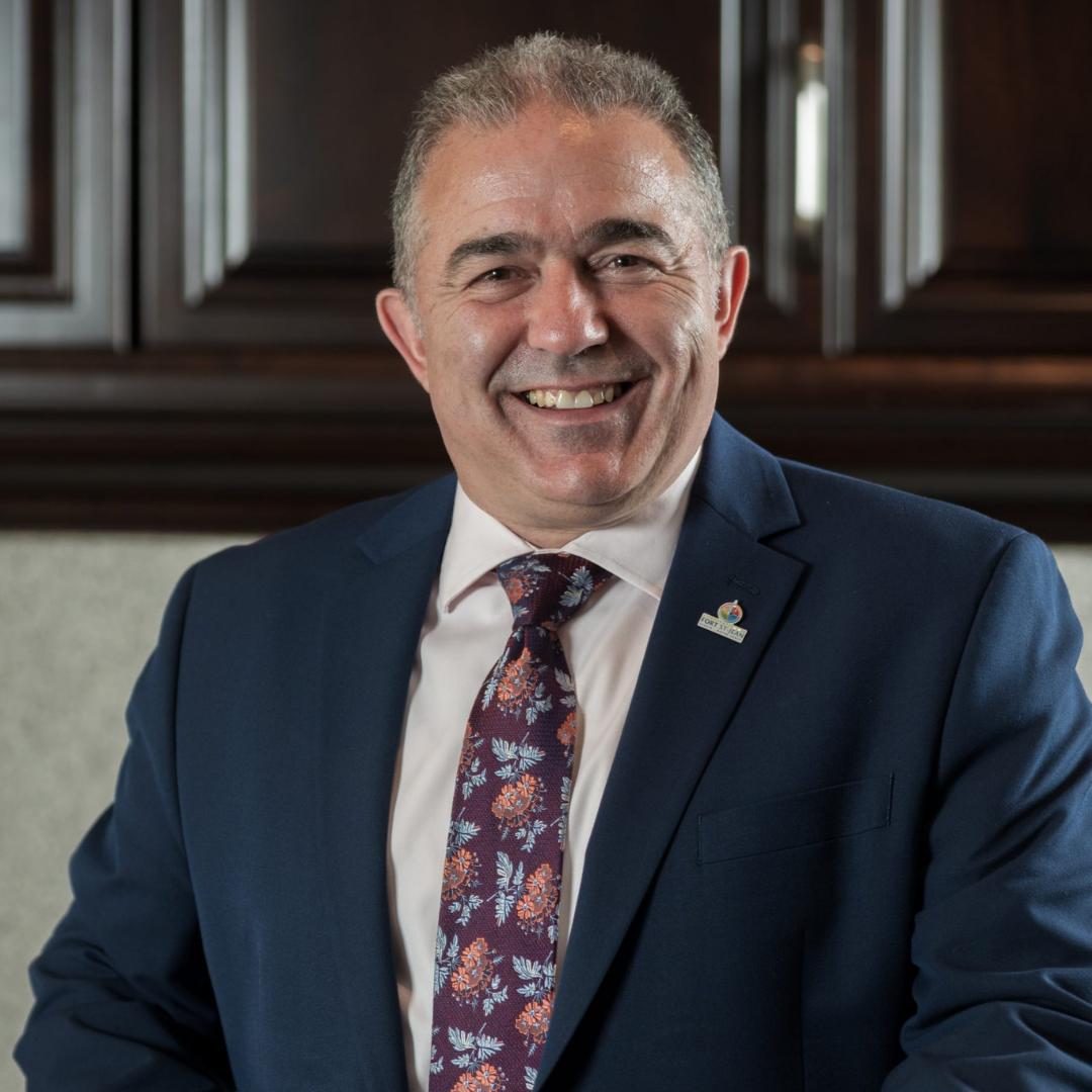 Steve Hétu, PDG de la Corporation du Fort St-Jean