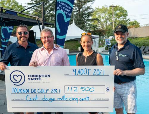 La 33e édition du tournoi de golf de la Fondation Santé bat tous les records