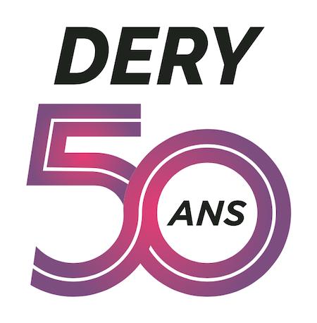 Logo Dery Toyota 50 ans